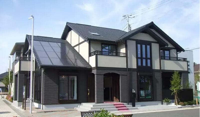 因为整个房屋的承重结构为轻钢龙骨结构,钢结构具有很好的延展性和