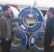 燕赵蓝天板业集团直销式服务很周到,高效快捷!