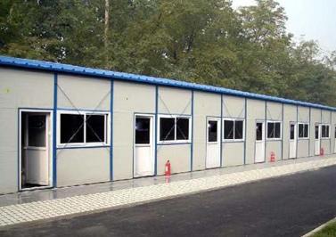 燕赵蓝天-2008年四川汶川大地震采用了燕赵蓝天彩钢制作的临时住房