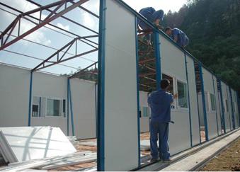 野外施工必备轻钢活动房