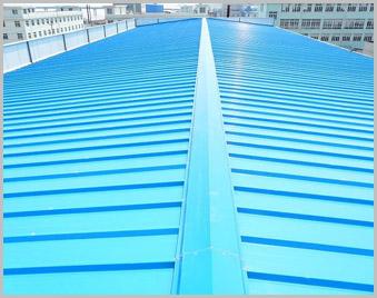 【河北】耐火材料厂建设 2015厂家定制订购彩钢板卷
