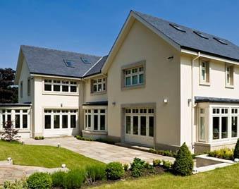 美式风格钢构别墅大受欢迎 建筑高端彩涂钢板大方上线
