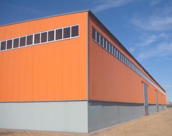 化工车间彩板用哪种好 蓝天板业PVDF氟碳彩涂板
