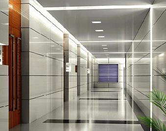 新型钢构办公室 彩钢板隔断随处见