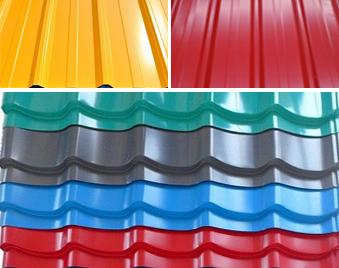 河南彩涂板生产厂家 开彩钢厂就选河北蓝天彩板