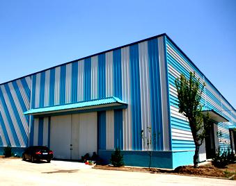 大企业选择好品牌 蓝天彩涂板就是你