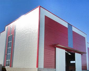 【厂房】还是蓝天板业彩钢板 赢得企业家的心