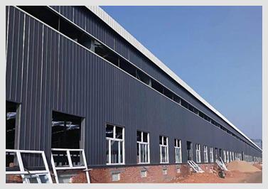 大型钢结构工程 来河北蓝天采购没错 彩涂板厂家